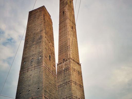 Le due Torri simbolo di Bologna