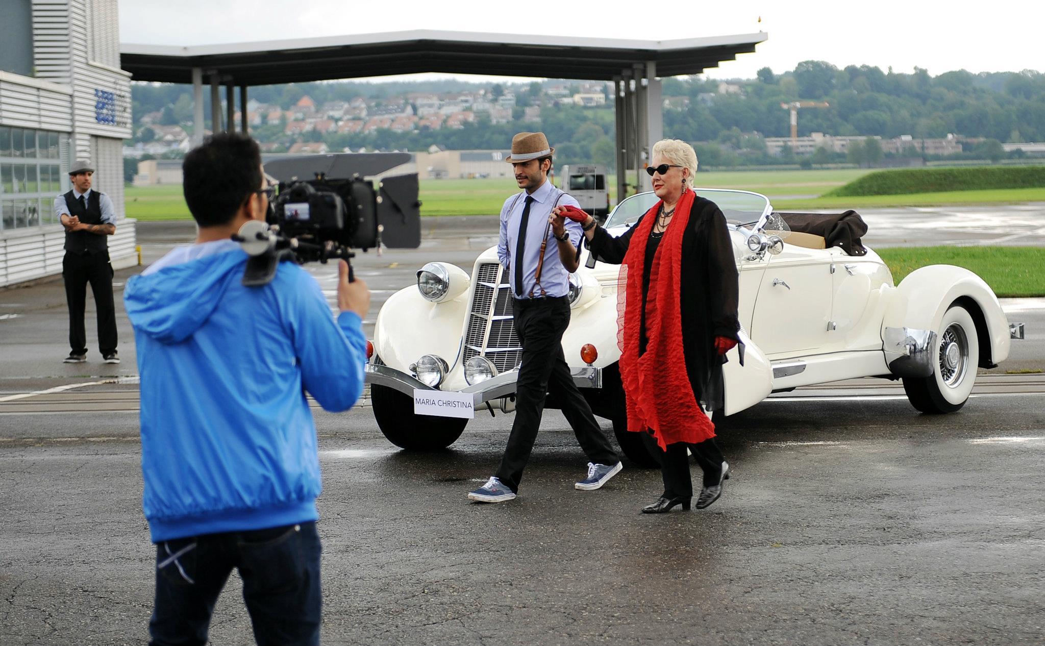Maria Christina Video Shoot
