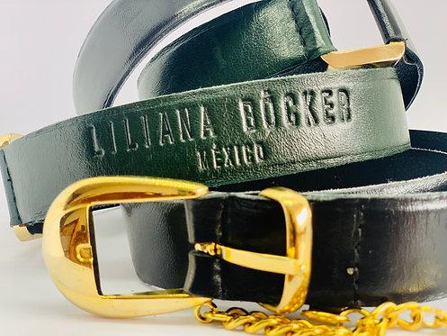 Cinturón hebilla cadena