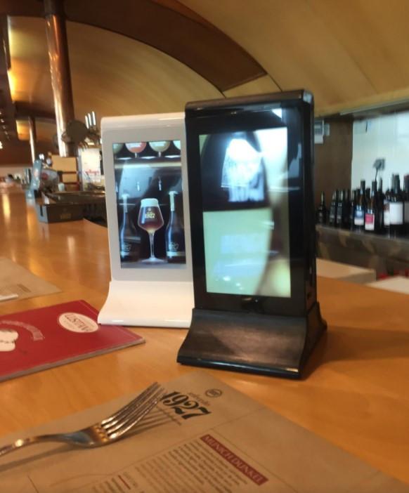 Restaurant Table Menu Display.JPG