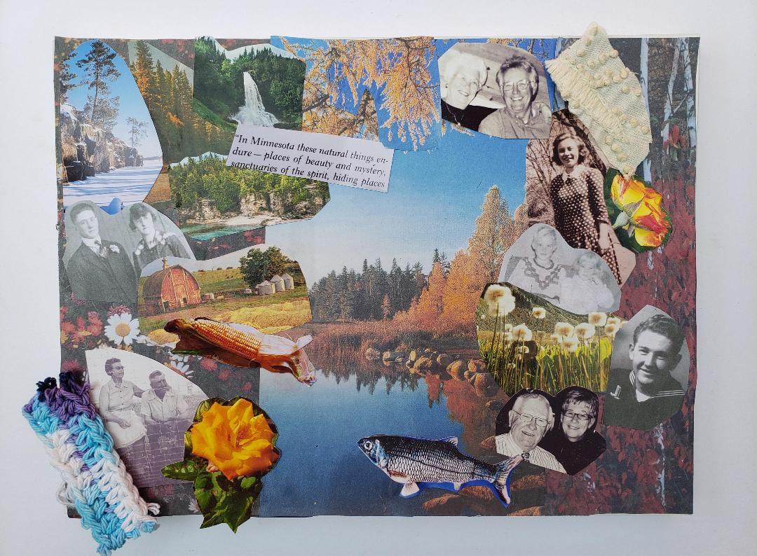Collage by Susan Hartman