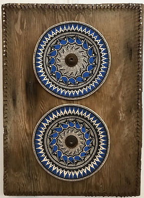 Rowan Harrison- Tribal Blue Plates1.jpeg