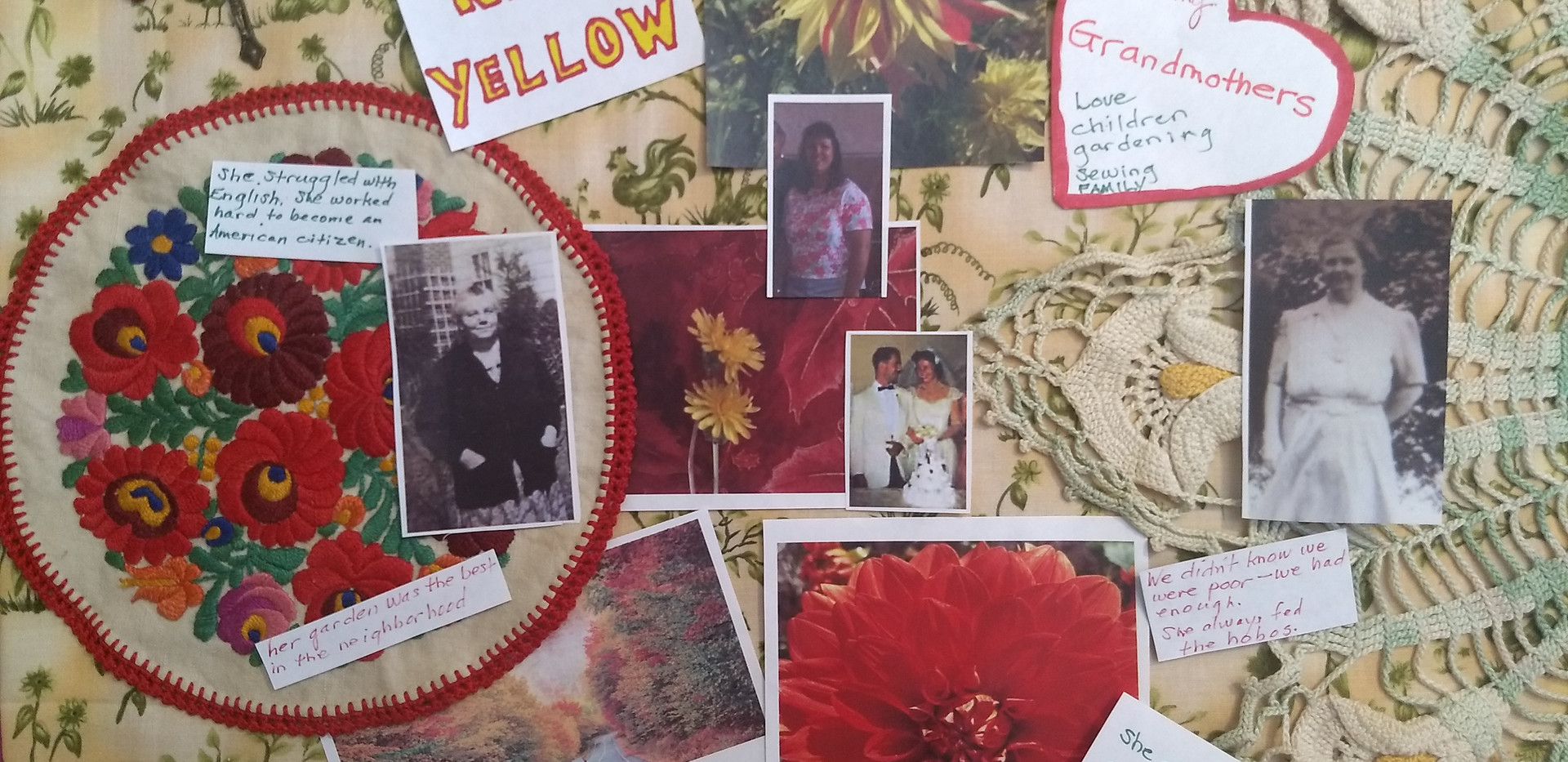 """""""Grandmother Collage"""" Sept. 19"""