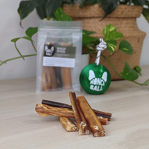 Bully sticks (pre-drilled) — 5 pieces