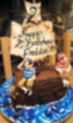 Pirates childrens birthday cake