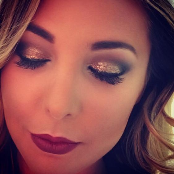 Jocelyn!! 💜 #whiphandcosmetics #glitter