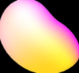 Forme abstraite colorée