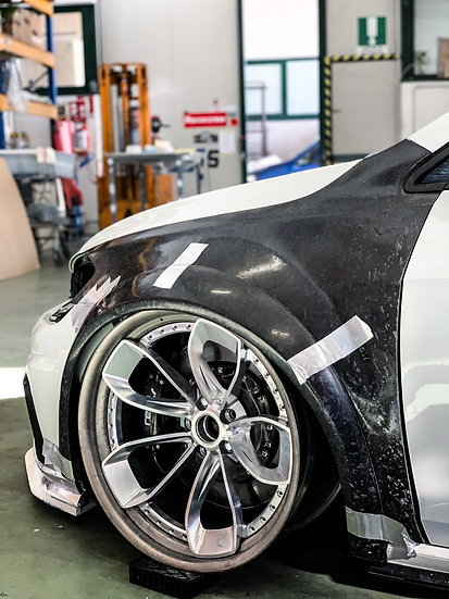 Wide arches VW GOLF 7 / 7.5 forged version