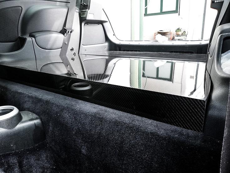 Rear Seat Delete Carbon - MINI R53