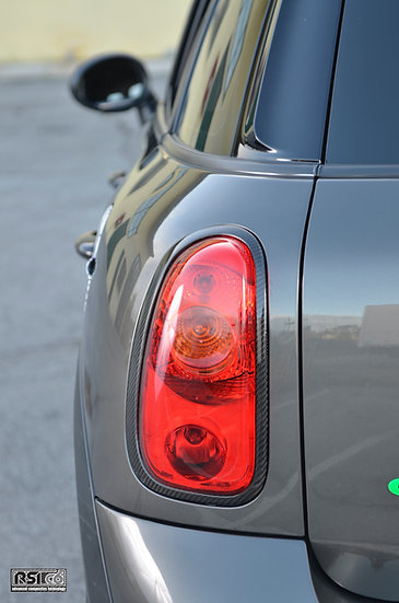 Carbon taillight trims