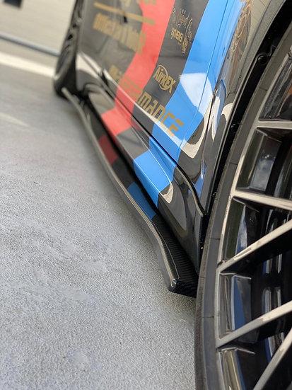 Side Skirt BMW M2 F87 carbonfiber version