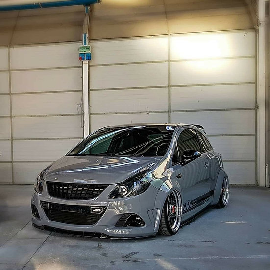 Wide Arches FRP - Opel/Vauxhall Corsa D OPC
