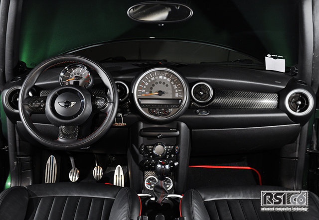 Carbon dashboard R56