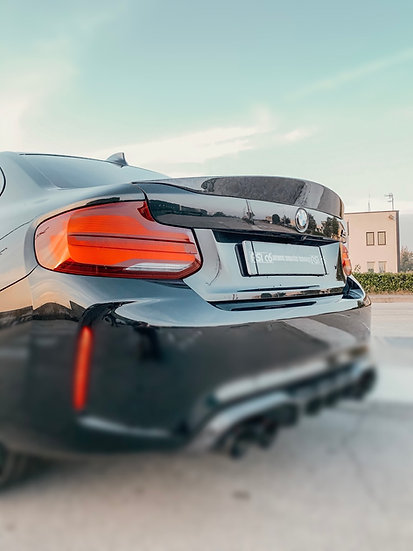Ducktail rear spoiler BMW M2 F87 forged version