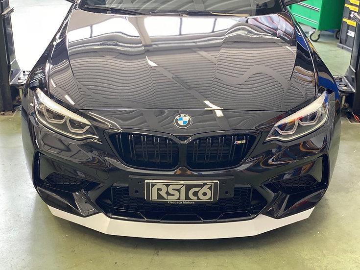 Frontlip BMW M2 F87 fiberglass version