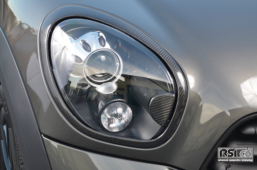 Carbon headlight trims MINI R60/61