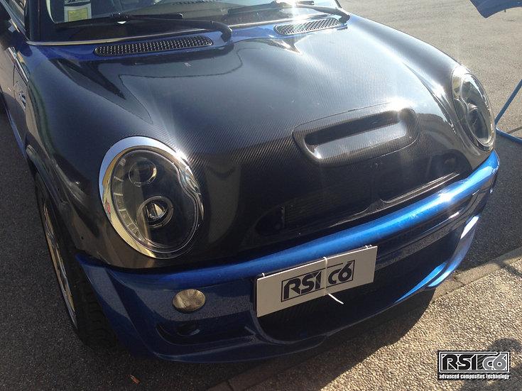 Bonnet full carbonfiber for MINI R50/53 Cooper S