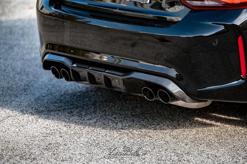 Rear Extractor BMW M2 F87 carbonfiber version