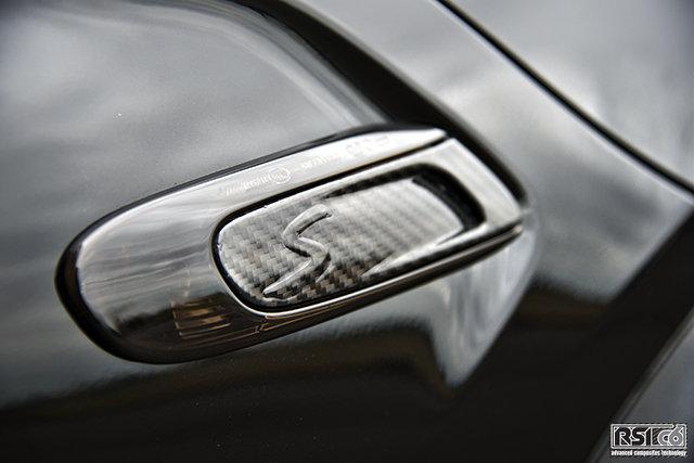 "Side scuttle carbon ""S"" MINI F56"