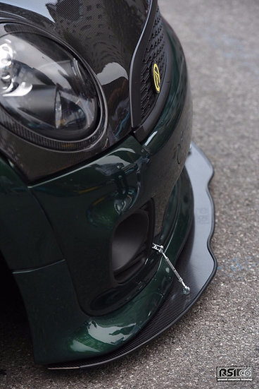 Front splitter MINI R50/53/56 carbonfiber