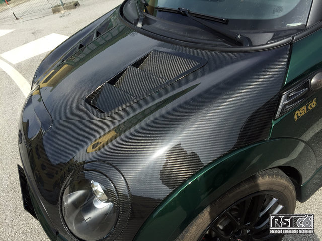 Front Bonnet Extractor Carbon - MINI R Series & F Series