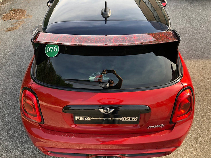 Spoiler Carbon/VTR MINI F56 forged