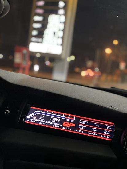 Passenger Sport Display MINI F55/56/57