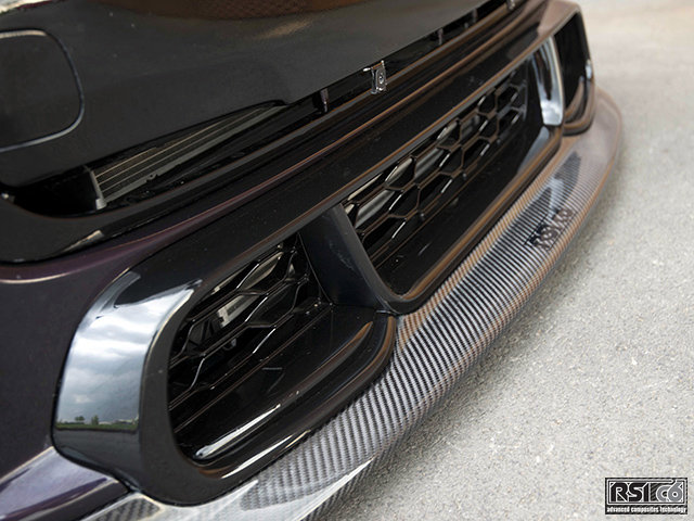 Front lip carbonfiber version MINI F56 JCW