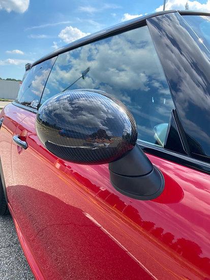 Side Mirror Caps Carbon MINI F55/F56/F57/F60