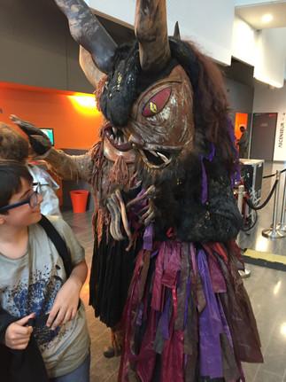 Moa et Hexe au Grand Déballage à la médiathèque de Bron