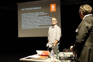 Les Transformateurs présents à la route des 20 au Théâtre Bourg en Bresse