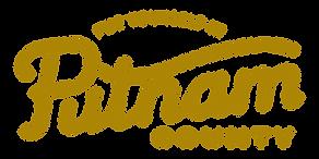 Putnam County Logo with Tagline Dark Gol
