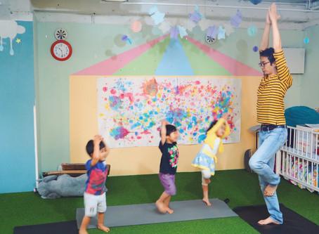 【夏休み特別企画】1~6歳対象『表現力を高める!「キッズヨガ」プログラム』7,8月開催!