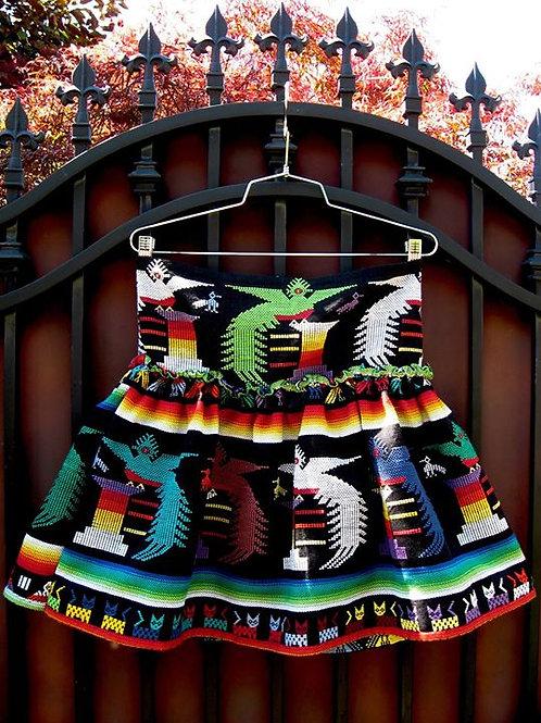 Rustic Textile Skirt