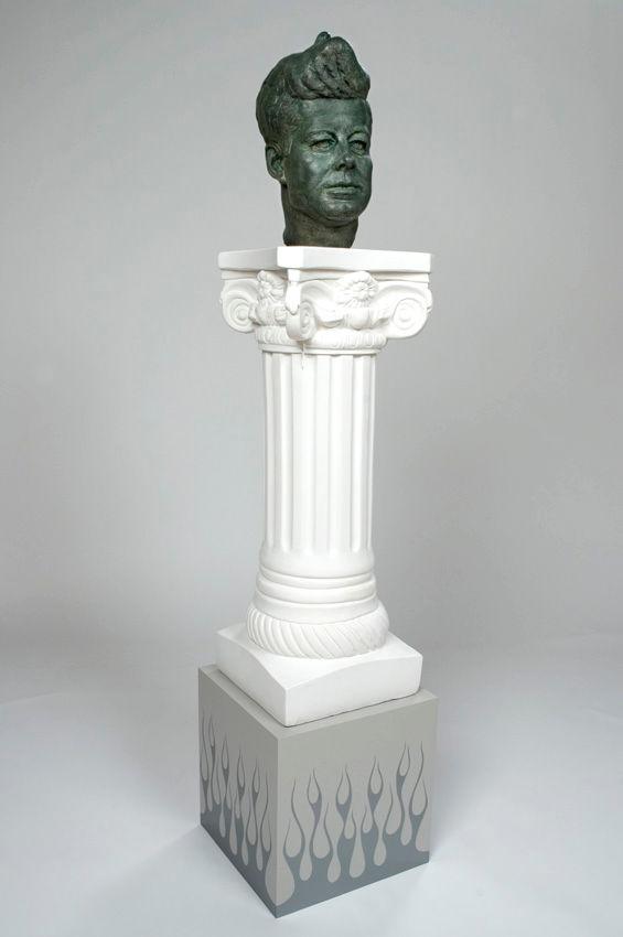 Self-Portrait as JFK's Hair-Do