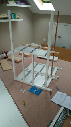 S7 handyman furniture assembling.