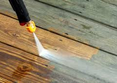 Jet Washing patio, decking, driveway.