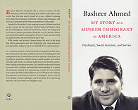 Front and back cover of Book: My Story as a Muslim Immigrant in America. Picture of Dr. Ahmed