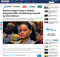 Screenshot of Diversity Inc webpage