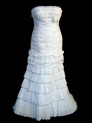 Crinkle Strapless - Size 16