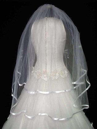 Simple Bridal Veil