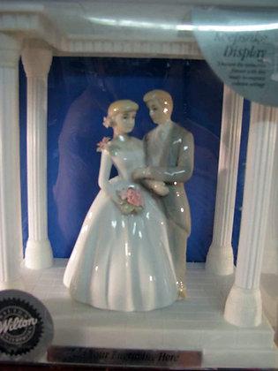 Wilton Bride & Groom Cake Topper