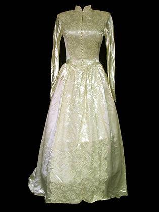 Satin 1940's Vintage - Size 4