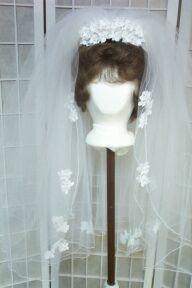 Fabric Flower Headpiece