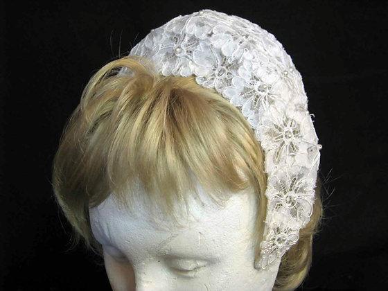 Vintage Cap Headpiece