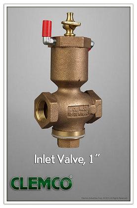 """CL-01980 Valve, 1"""" Inlet"""