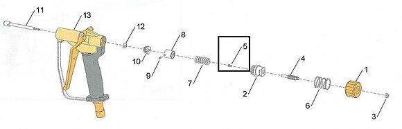 5 - Screw, stem stop