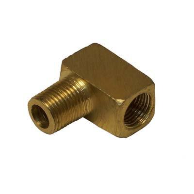 """CL-03993 Elbow, 1/8"""" brass street"""