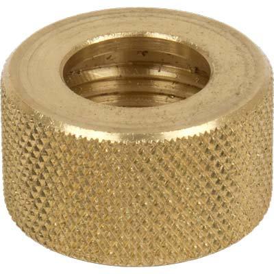 2. Nozzle holding nut, Knurled brass (std)