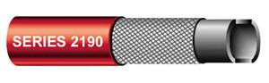UN-2190 Series 2190 Paint Spray Air Hose - Red